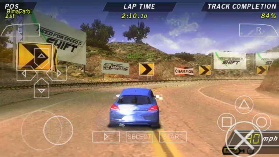 PSP Android Need for Speed Shift 2 - PPSSPP Games Highly Compressed (Top 35 Games)