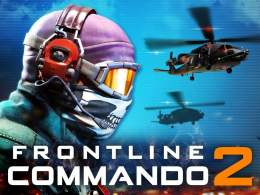 FRONTLINE COMMANDO 2 cover - Frontline Commando 2 Mod Apk V3.0.3 (Unlimited Gold & Money)