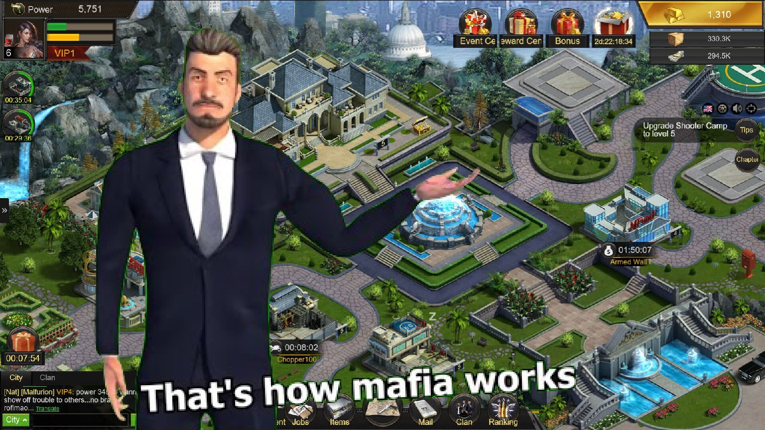 mafia city featured - Mafia City Mod Apk - How To Get Unlimited Resources & Money