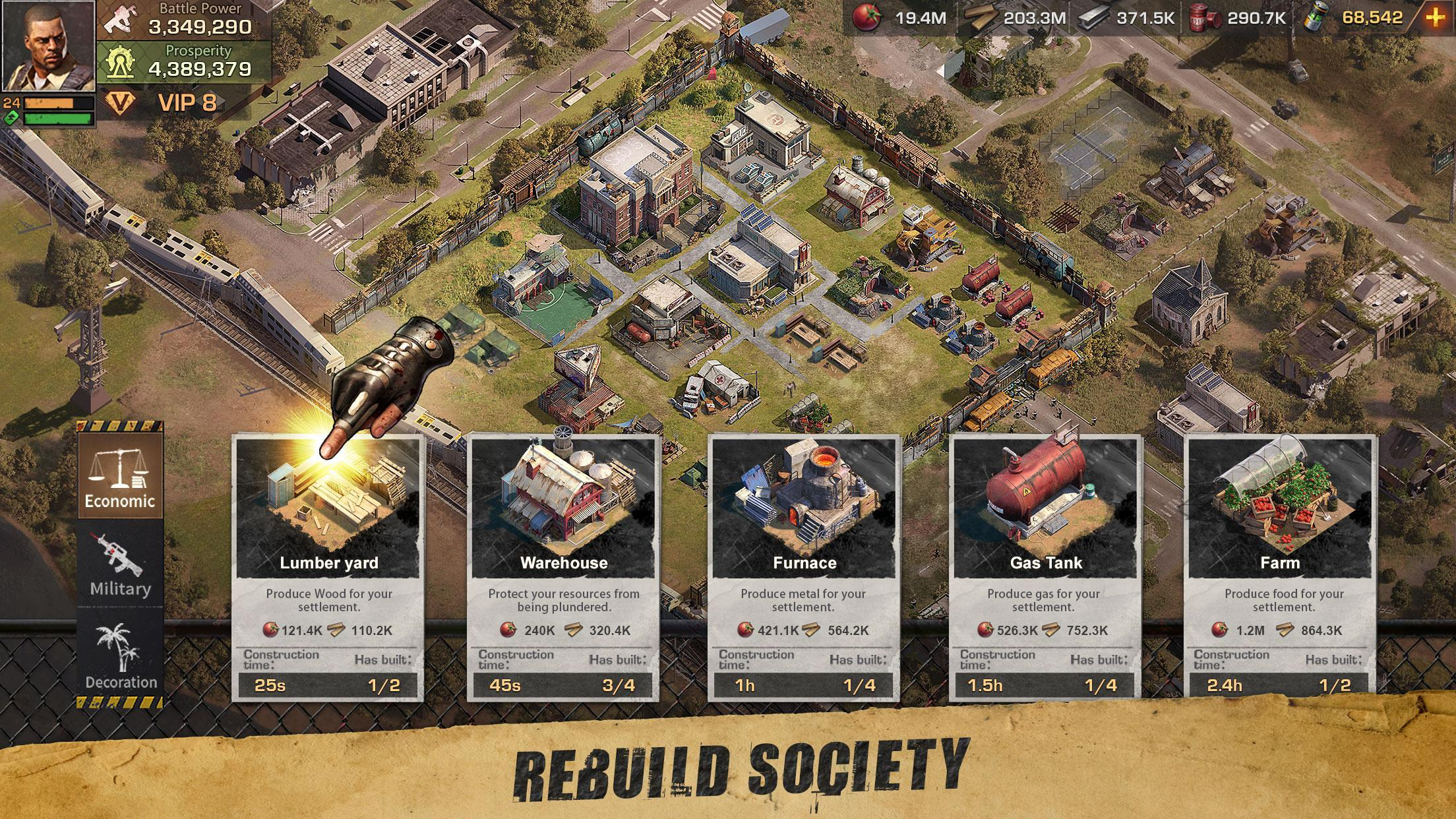 1 screen 1 - State Of Survival Mod Apk V1.9.3 (Quick Skill & Unlimited Money)