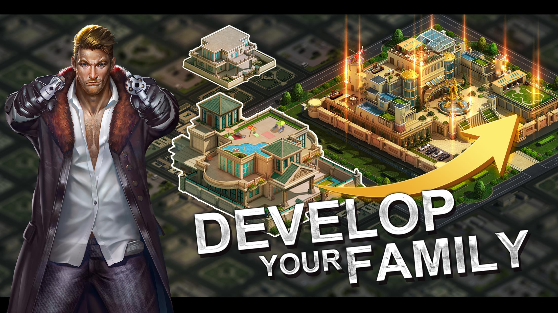 screen 2 - Mafia City Mod Apk - How To Get Unlimited Resources & Money