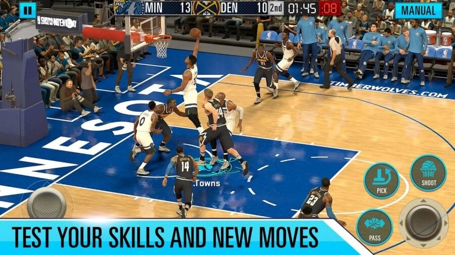 NBA 2K20 Mobile Now Out MyTeam Gaming - NBA 2k20 Mod Apk Highly compressed + Obb File (Unlimited Money)