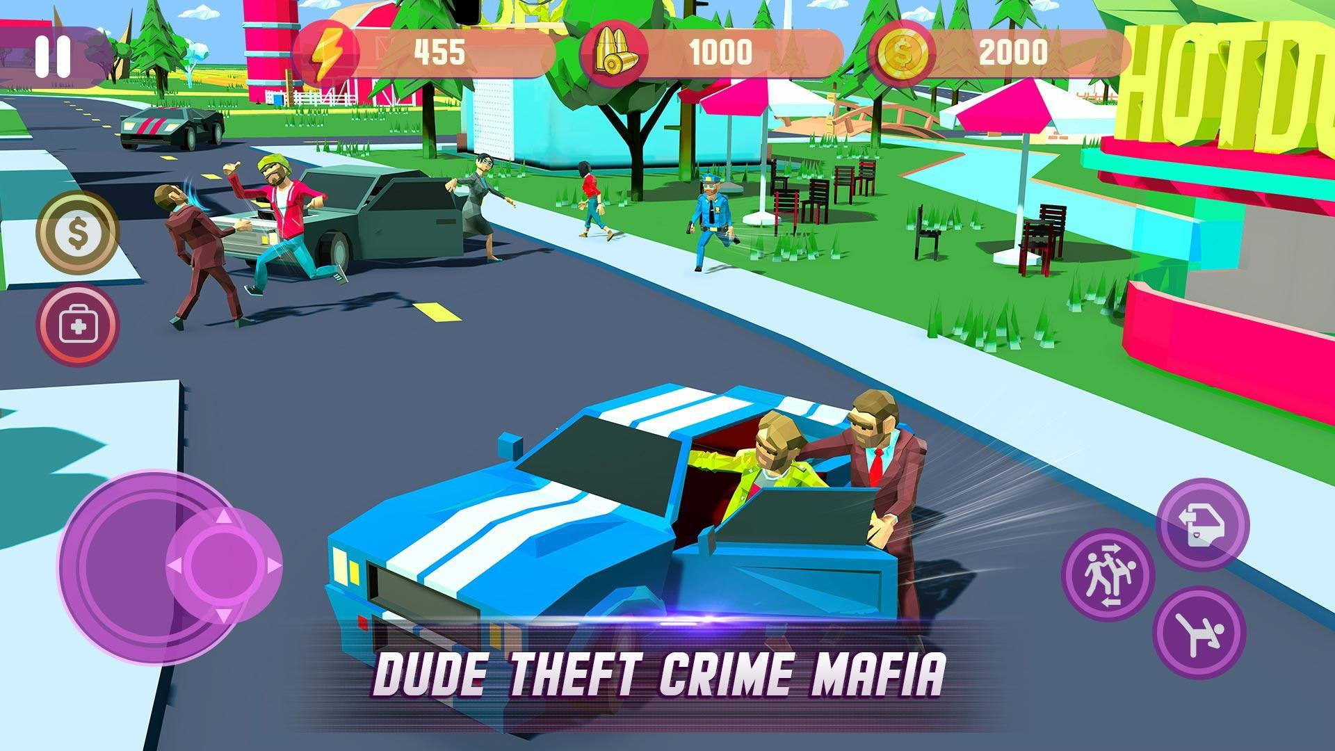 2 screen 1 - Dude Theft Wars Mod Apk V0.87c (Unlimited Money) Download