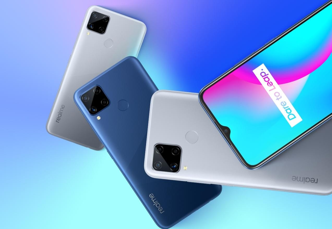 Realme C15 with Helio G35 SoC 6000mAh Battery Goes Official - Realme C15 price in Nigeria, review, and Full Specs