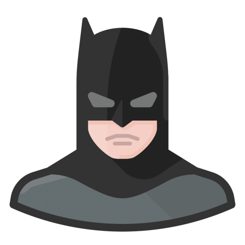 batman icon - Meet the team