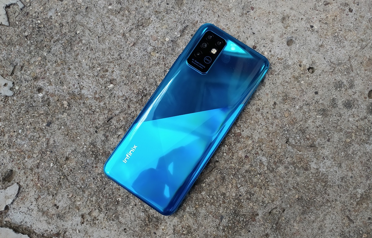 Infinix Note 8 back - Infinix Note 8 price in Nigeria and full specs