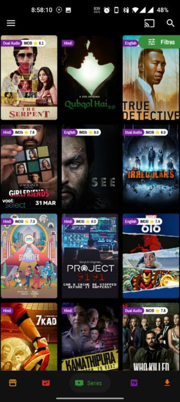 PicasoTV web series - PicasoTV Apk (Ads Removed) - Watch Movies, TV series, and Live IPL