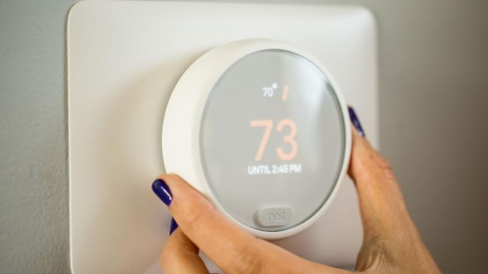 Image result for nest learning thermostat