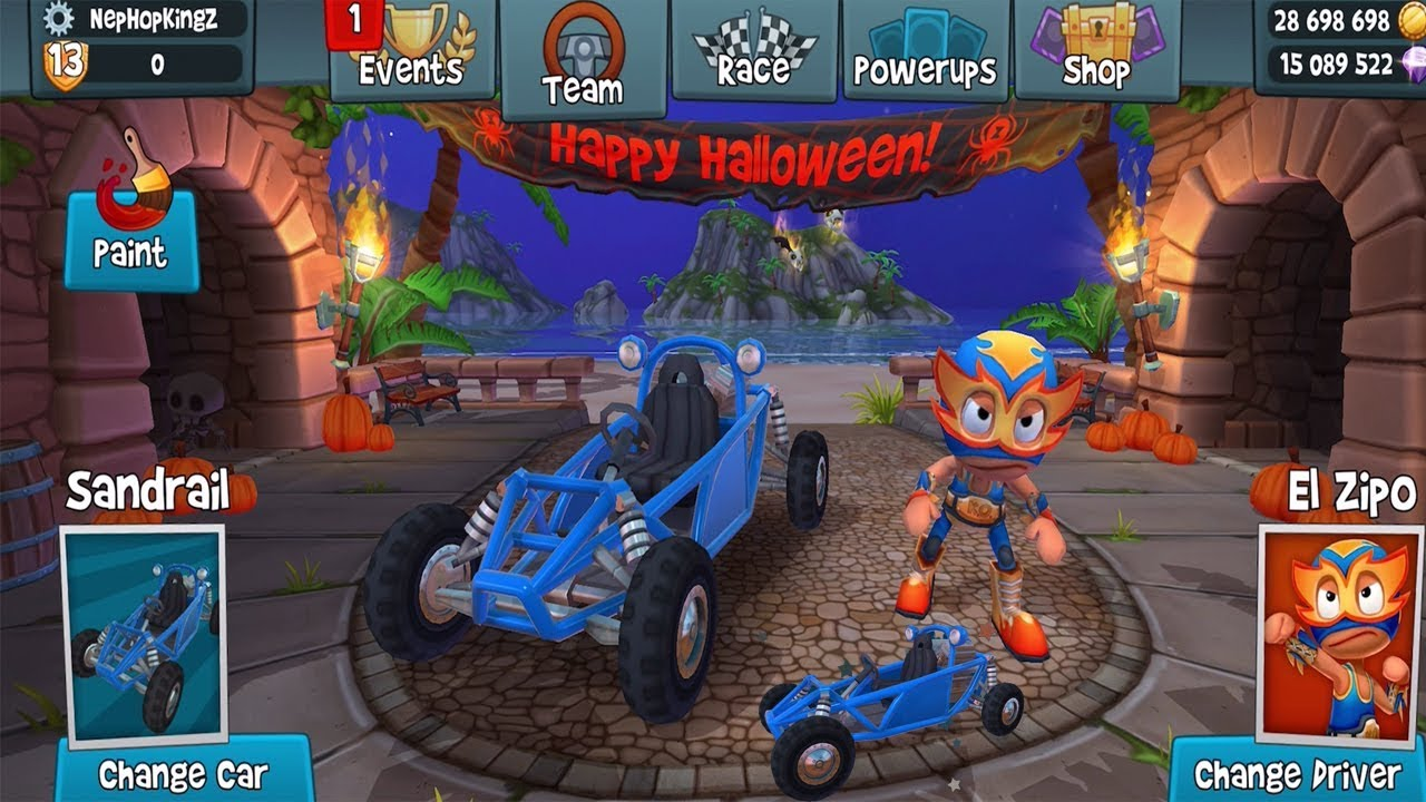 1 maxresdefault - Beach Buggy Racing 2 Mod Apk - Unlimited Money And Gems