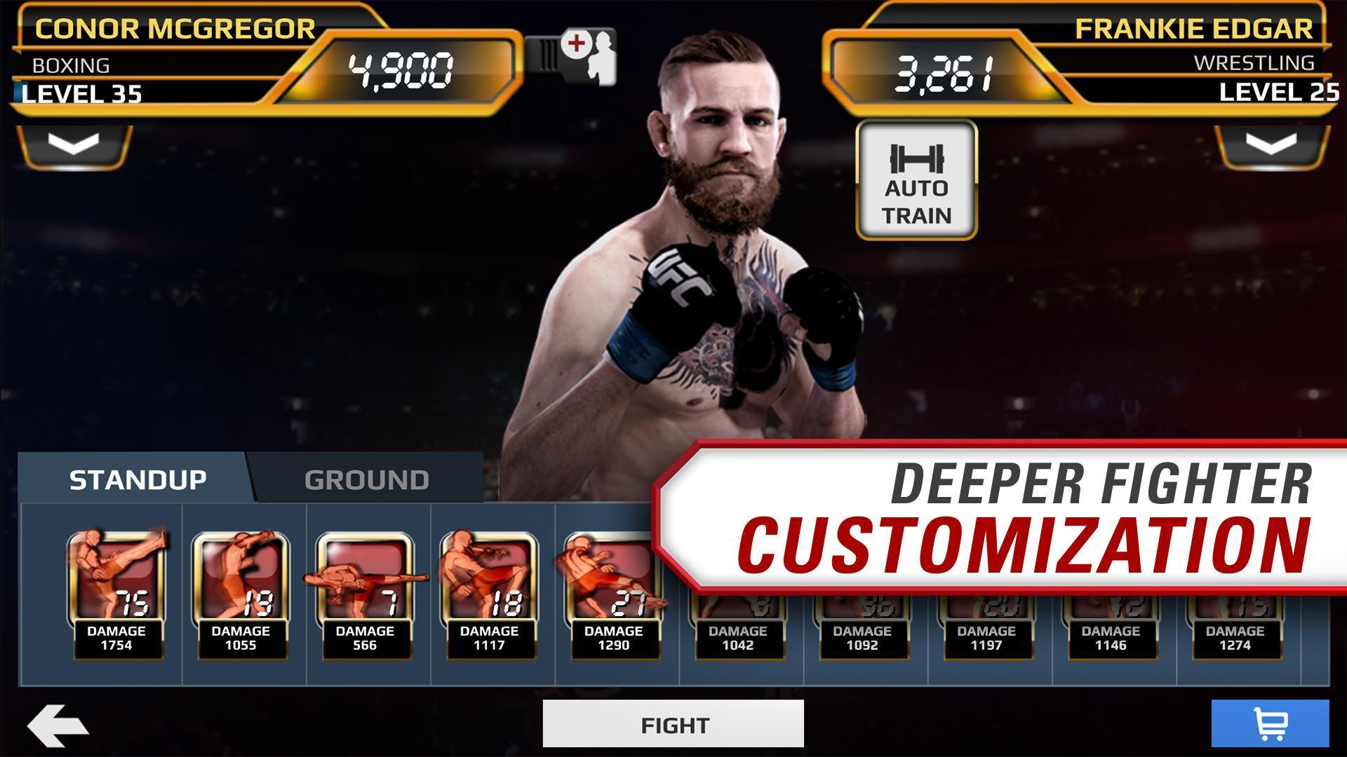 screen 3 - UFC Mod APk + Obb Data Files (Unlimited Gold/Unlocked)
