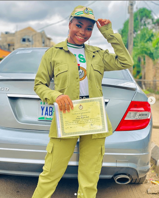 Taooma has passed out from NYSC
