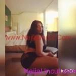 Naija Beauty Twerking On Camera To Dbanj song
