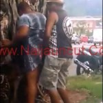 Quick Sex Behind The Tree