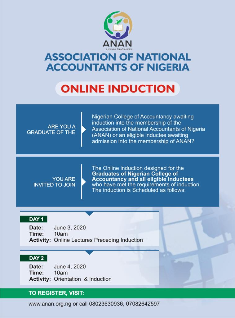 anan online induction