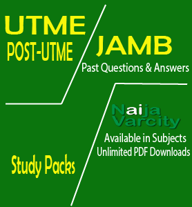 JAMB Past Questions Pack