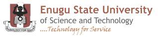 ESUT Admission into 2020/2021 Undergraduate Mature Students Programmes