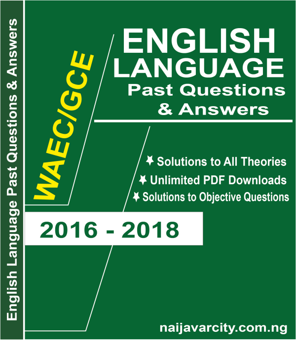 English Language WAEC Past Questions