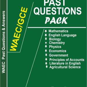 WAEC PAST QUESTIONS PACK AND ANSWERS
