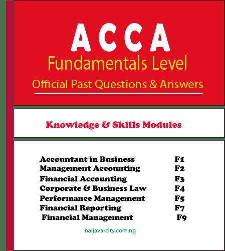 ACCA Fundamentals Past Questions