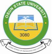 UNIOSUN Merit Admission List for 2020/2021