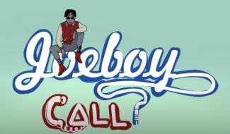 VIDEO: Joeboy – Call (Visualizer Video)
