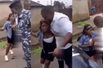 Man hires SARS officers to arrest his girlfriend in other to propose to her (WATCH VIDEO)