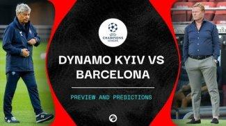 STREAM LIVE: Dynamo Kyiv Vs Barcelona [STREAM UEFA CHAMPIONS LEAGUE]