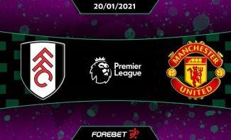 STREAM LIVE: Fulham Vs Manchester United [Watch Now] Premier League 2020/2021