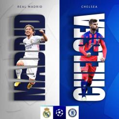 STREAM LIVE: Real Madrid Vs Chelsea [Watch Now] CHAMPIONS LEAGUE 2021
