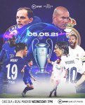 LIVE STREAM : Chelsea Vs Real Madrid [Watch Now] CHAMPIONS LEAGUE 2020/2021