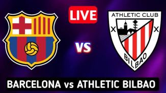 LIVE STREAM: Athletic Bilbao Vs Barcelona [LALIGA SANTANDER] Watch Now