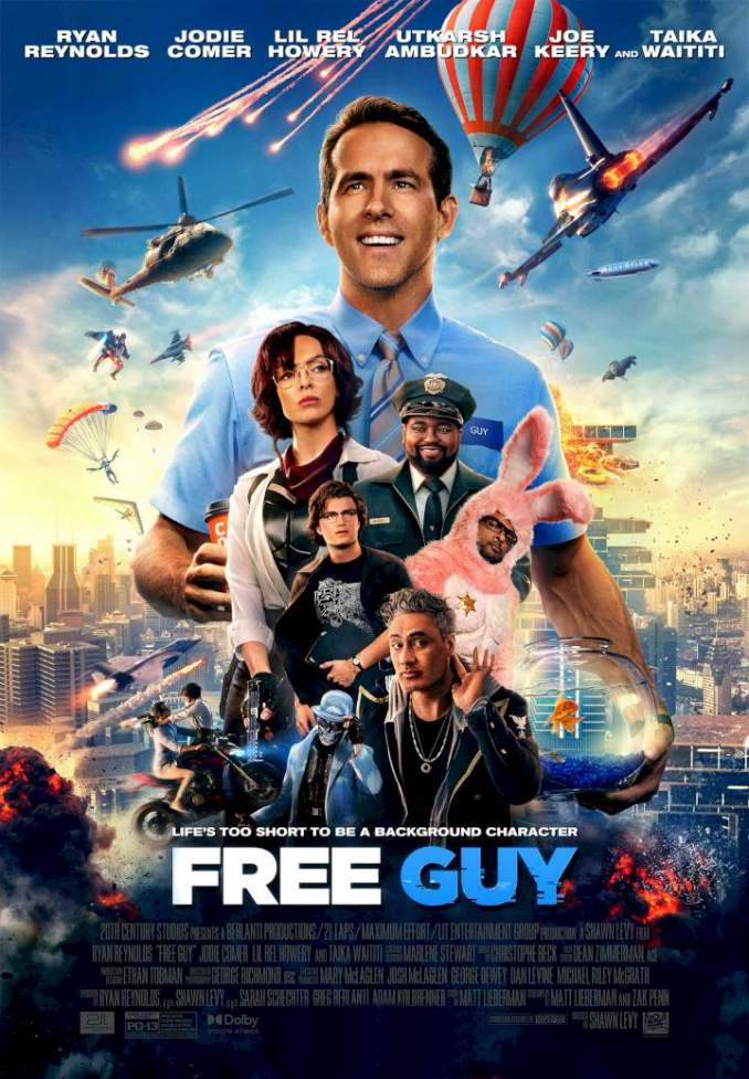 Download Movie: Free Guy (2021) Full HD