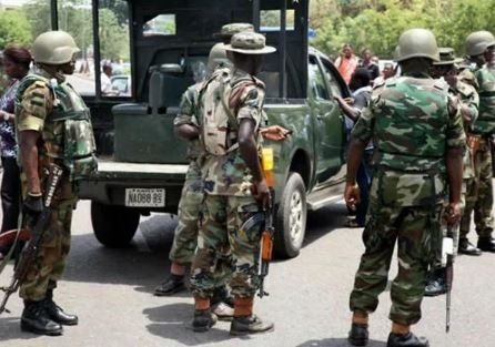 Soldiers Beat Up Lagos State Government Clean-Up Committee Officials (Read Full Details)