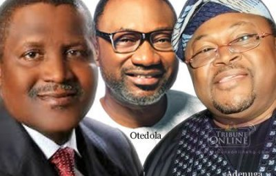 DONATIONS!! See How Much Nigerian Billionaires Donated To Fight Against Covid-19 In The Country (Even 2Face Donated)