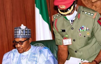 President Buhari Appoints New Chief Personal Security Officer