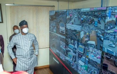 Governor, Seyi Makinde Recommission Oyo City Watch Facilities, Security Control Room In Ibadan (See Photos)