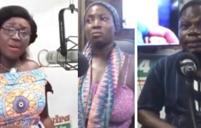 Gbas Gbos!!! Woman And Church Elder Clash On Radio As He Paid N1,700 For 2 Rounds Of Sex Instead Of N3,400 (Video)
