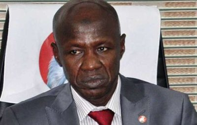 BREAKING: Suspended Acting EFCC Chairman, Magu, Released From Detention