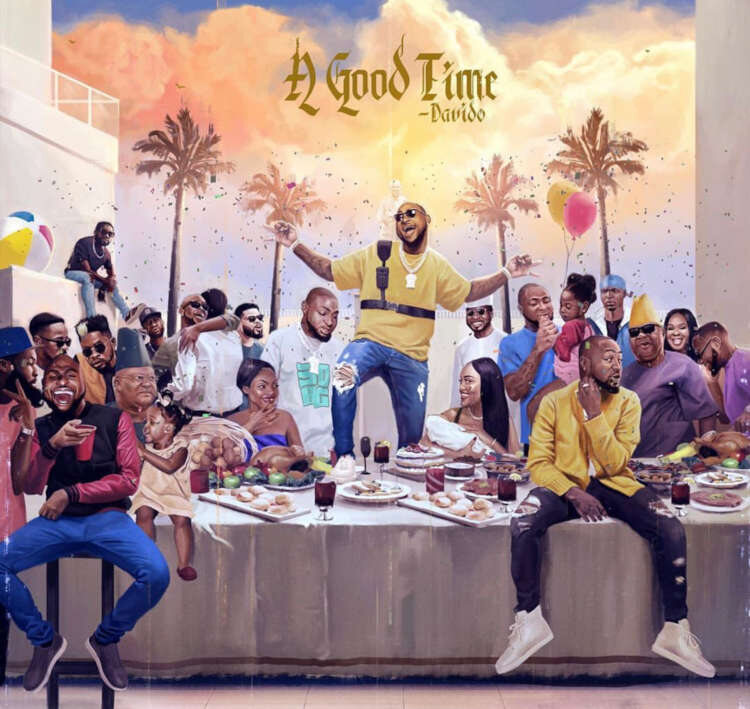 DAVIDO'S 'A GOOD TIME' ALBUM BECOMES THE WORLD'S MOST STREAMED ALBUM OF 2019