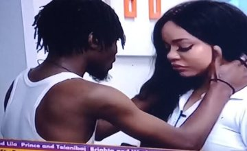 BBNaija: Nengi Breaks Down In Tears As Ozo Ignores Her during the party