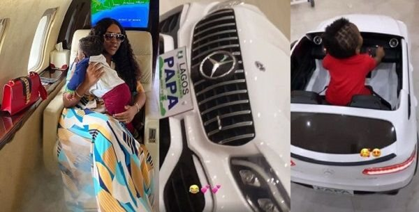 Chioma Gets 'Ifeanyi' Tattoo on Body