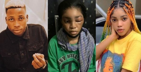 Former DMW Rapper, Lil Frosh Arrested For Beating His Girlfriend, Gift Camille (VIDEO/Details)