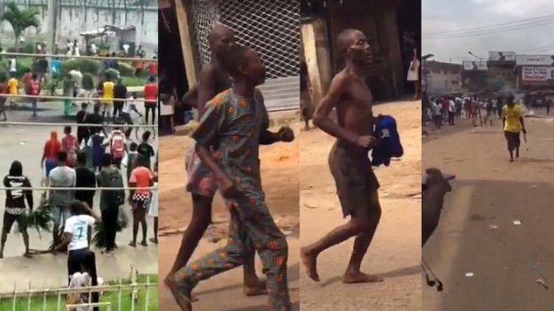 BREAKING: Thugs Attack Another Prison In Edo, Free Many Inmates