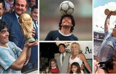 The incredible life of Maradona in pictures.(Read More)