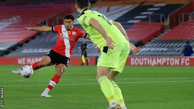 Southampton moved Top of the Premier League for the first time ever.(Read more)