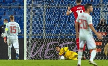 Sergio Ramos had two penalties saved as Spain drew with Switzerland.(Read More)