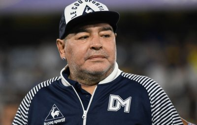 """Argentina legend Diego Maradona is undergoing """"routine surgery"""" on a blood clot on his brain on Tuesday evening."""