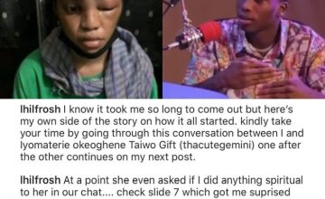 BREAKING!! Lil Frosh Finally Denies Beating His Girlfriend With Strong Proof – Do You Believe Him?