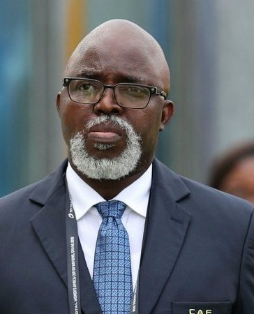 NFF President Amaju Pinnick will not Contest for Third Term
