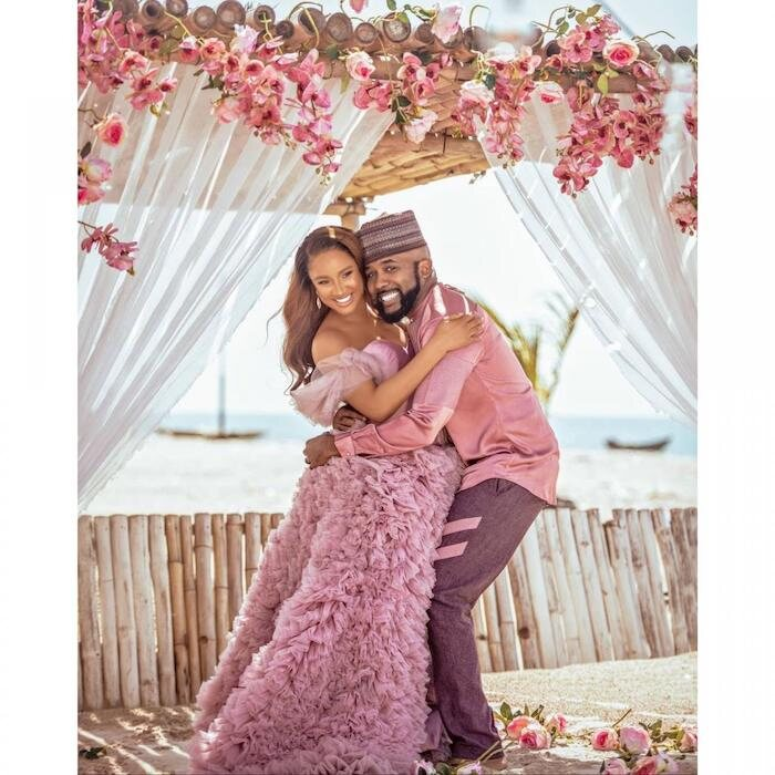 Adesua Etomi Makes First Appearance After Giving Birth